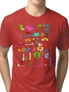 busy Tri-blend T-Shirt