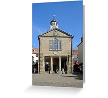 Whitby Old Town Hall Greeting Card
