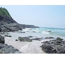 Wave rush Photographic Print
