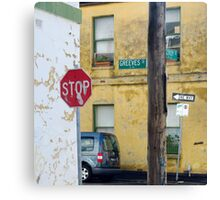 Greeves St. Canvas Print