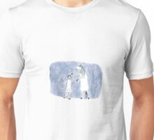 Horse and I are dancers in the dark Unisex T-Shirt