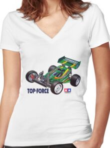 58100 Top Force Women's Fitted V-Neck T-Shirt