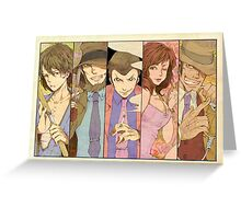 lupin Greeting Card