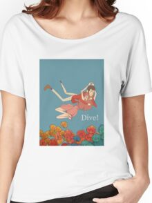 lupin Women's Relaxed Fit T-Shirt