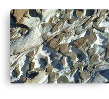 Rock sculpture Canvas Print