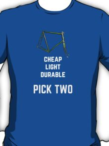 Bike Parts Roadie T-Shirt