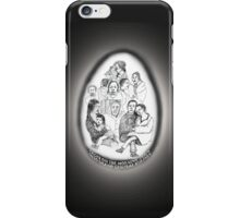 NYC-Faces on the morning train into Grand Central Station iPhone Case/Skin