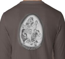 NYC-Faces on the morning train into Grand Central Station Long Sleeve T-Shirt