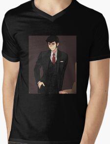 lupin Mens V-Neck T-Shirt