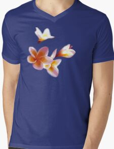 Frangipani #2 Mens V-Neck T-Shirt
