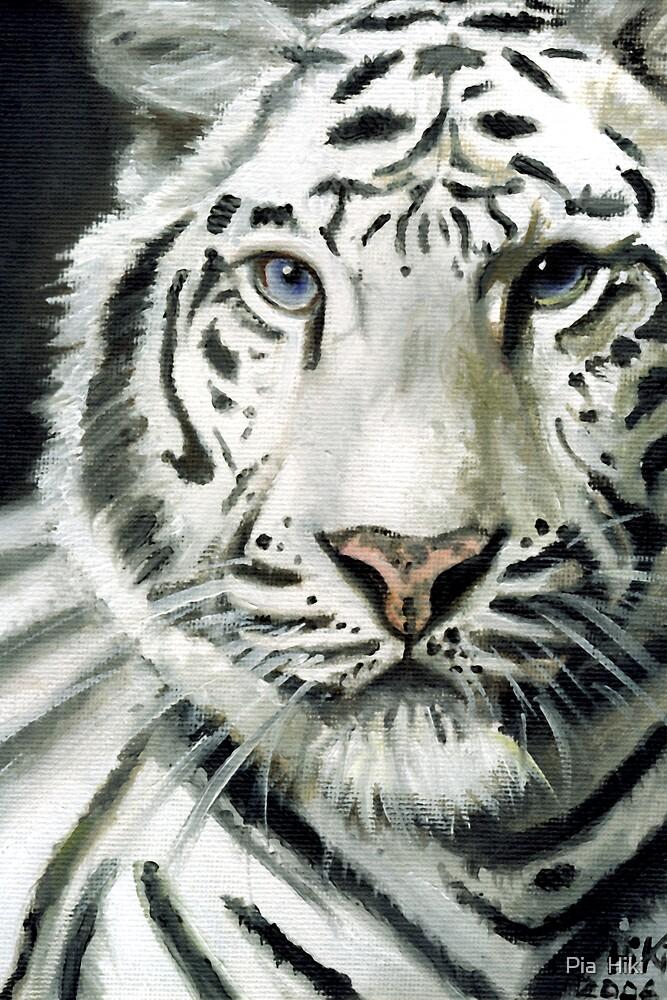 White Tiger by Pia  Hiki