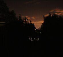 Night Sky Glow by Mathew Reed