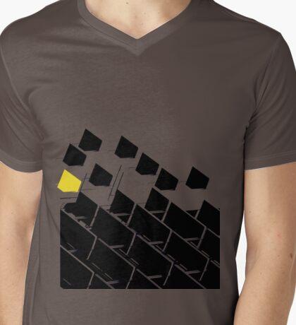 Building Blocks Mens V-Neck T-Shirt