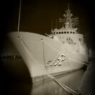 HMAS Warramunga by Peter Redmond
