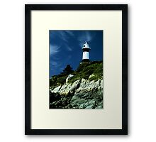 Donegal lighthouse Framed Print