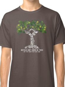 Bike Tree (white) Classic T-Shirt