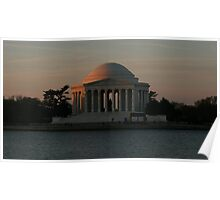 Jefferson Memorial Early Morning Poster