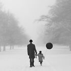 Father & Daughter by redtree
