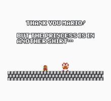 Thank you Mario! Baby Tee