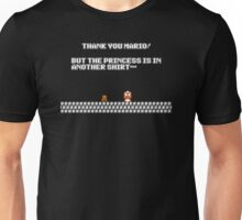 Thank you Mario! Unisex T-Shirt