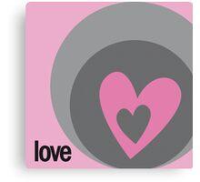 LOVE 11 Canvas Print
