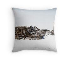 Collapsed Usability Throw Pillow