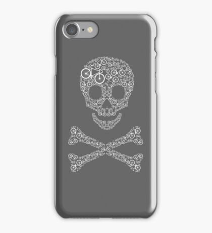Bikes on the brain iPhone Case/Skin