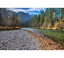 River bank Photographic Print