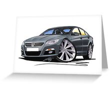 VW Passat CC Grey Greeting Card