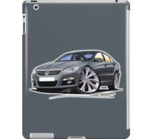 VW Passat CC Grey iPad Case/Skin