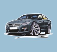 VW Passat CC Grey Kids Tee