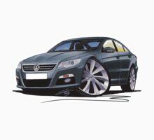 VW Passat CC Grey by Richard Yeomans
