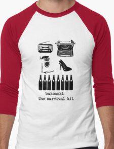 Bukowski: the survival kit Men's Baseball ¾ T-Shirt