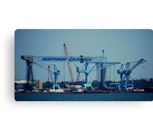 Worlds Largest Crane Canvas Print