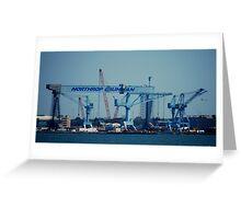 Worlds Largest Crane Greeting Card