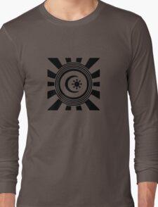 Mandala 34 Back In Black Long Sleeve T-Shirt