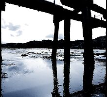 The Old Pier Castlerock by ragman
