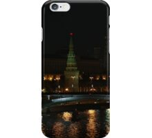 Moscow night iPhone Case/Skin