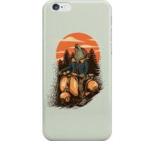 lonely rider iPhone Case/Skin
