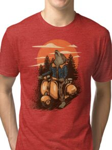 lonely rider Tri-blend T-Shirt