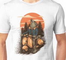 lonely rider Unisex T-Shirt