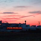 Calan Forcat Sunset II by Tom Gomez