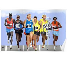 Corky in a Marathon Poster
