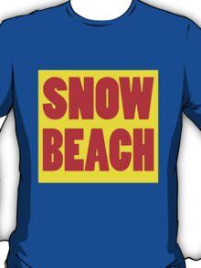 snow beach T-Shirt