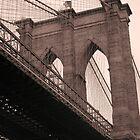 Brooklyn Bridge by David Marciniszyn