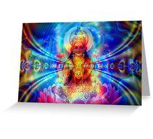 Lotus of Spiritual Love Greeting Card