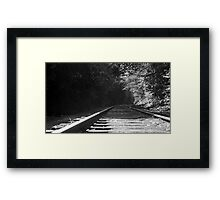 Train Track #2 Framed Print