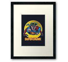 SuperChunk Framed Print