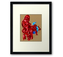 Exclamation Framed Print