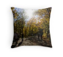 Mount Royal, Montreal Throw Pillow